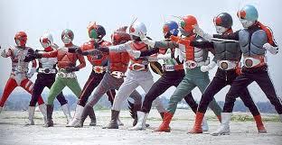 La serie Kamen Rider se ha producido desde 1971.