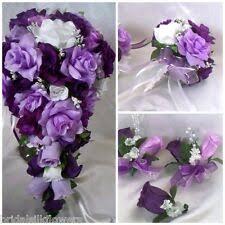 Cascading Bridal Bouquet for sale | eBay