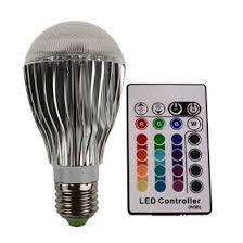 get quotations bigoneshop multi color changing color changer 10w e27 rgb led bulb lamp light mood lighting cheap mood lighting