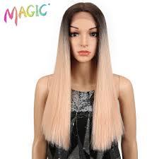 "<b>Magic Hair Straight</b> Lace Front <b>Wigs</b> For Black Women 20""Inch ..."