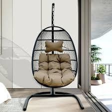 <b>Egg Shaped</b> Swing <b>Chair</b> | Wayfair.ca
