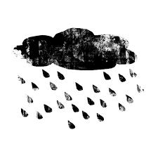 Image result for dark rain cloud