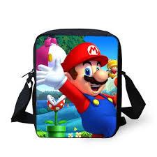 <b>FORUDESIGNS</b> Mini <b>Children School</b> Bags Cartoon Super Mario ...