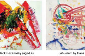 A child couldn't paint that – can people tell <b>abstract art from</b> a child's ...