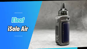 <b>Eleaf iSolo Air</b> Pod Mod <b>Kit</b> 40W1500mAh Unboxing | Vapesourcing ...