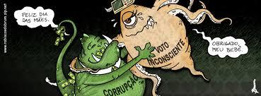 Resultado de imagem para corrupto charge