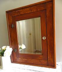 Rustic Wood Medicine Cabinet Furniture Outstanding Mirror Sliding Medicine Cabinet With Double