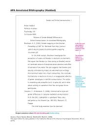 pages Annotated Bibliography docx Wikipedia