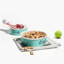 <b>Миска для собаки</b>, костяной фарфор, размер small. | Tiffany & Co.