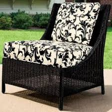 black white outdoor cushions black and white patio furniture