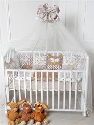 <b>Комплект</b> для детской <b>кроватки</b> Совушки, 22 предмета PATRINO ...