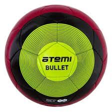 <b>Мяч</b> футбольный <b>Atemi BULLET WINTER</b>, PU, красн/чёрн/зел, р.5 ...