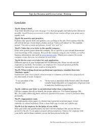 covering letter tips template covering letter tips