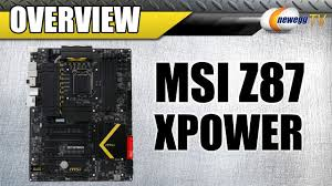 MSI Z87 <b>XPOWER</b> Motherboard Overview - Newegg TV - YouTube