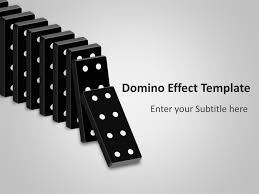 domino effect powerpoint template powerpoint presentation ppt