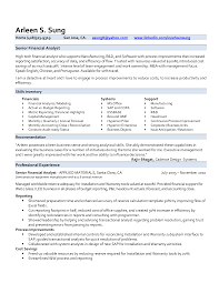 senior financial analyst resume com senior financial analyst resume and get inspired to make your resume these ideas 17