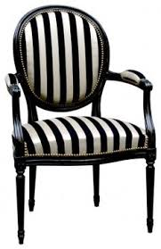 black and white striped chair gonna do one of these too black and white striped furniture