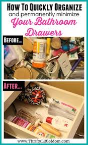 bathroom drawer organization: how to quickly organize your bathroom drawers this post gives you  easy to follow