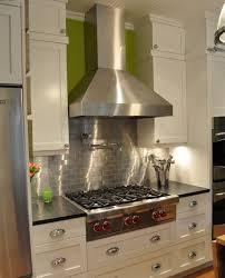 kitchen backsplash stainless steel tiles: large  sp stainless steel subway tile backsplash
