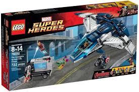 Купить <b>Конструктор Lego Super Heroes</b> 76032 Погоня на ...