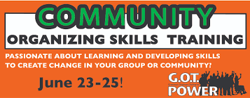 community organizing skills training mid south peace and justice community organizing skills training