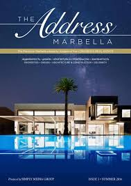 The Address Marbella by ClearVision Marketing - issuu