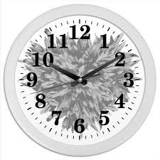 "Часы круглые из пластика ""Элегантная <b>классика</b>"" #2594153 от ..."