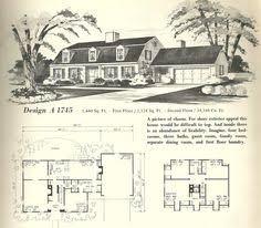 Vintage house plans  gambrel roof  s   Dutch Colonial    Vintage house plans  gambrel roof  s