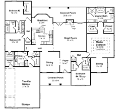 images about house plans on Pinterest   House plans  Floor    House Plan   Country European Southern Traditional Plan   Sq  Ft   Bedrooms  Bathrooms  Car Garage