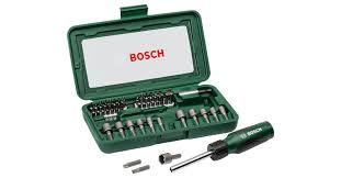 <b>Набор бит</b> для шуруповерта, 46 шт. | <b>Bosch</b> DIY