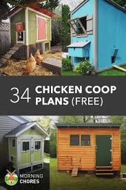 DIY Chicken Coop Plans that are Easy to Build     Free Chicken Coop Plans