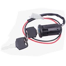 Amazon.com: Wingsmoto Ignition <b>Key Switch</b> Lock <b>2</b> Wire Electrical ...