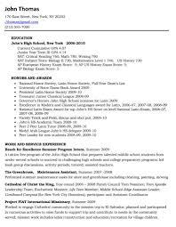 curriculumvitae english desirable high school student resume high school resume for college resume sample high school resume template word