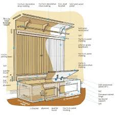 ideas about This Old House on Pinterest   Houses  Plumbing    How to build a mudroom bench    image  Gregory Nemec    This Old