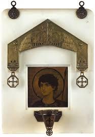 <b>Икона</b> «<b>Святой Великомученик Георгий</b> Победоносец» в киоте ...