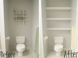 design ideas small spaces image details: custom bathroom remodeling before and after remodel tiny and narrow bathroom spaces painted with white wall interior color decoration plus diy wood wall mounted storage over toilet ideas