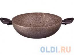 <b>Сковорода Tima</b> AT-4128 ART Granit <b>28 см</b> алюминий — купить по ...