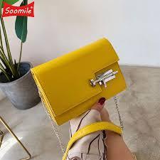 Women's Handbag Simple Chain Crossbody Bags For Women <b>2021</b> ...