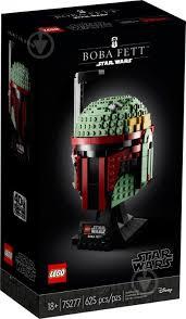 ᐉ Конструктор <b>LEGO Star Wars</b> Шлем Бобы Фетта 75277 ...