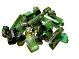 grön turmalin
