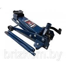 Подкатной гидравлический <b>домкрат</b> 3 тонны с педалью (высота ...