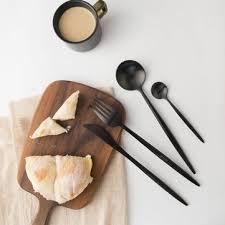 maision maxx <b>4pcs stainless steel dinnerware</b> set mi home spoon ...