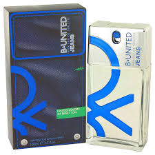 <b>Benetton B United Jeans</b> Eau De Toilette Spray for Men 3.3 oz