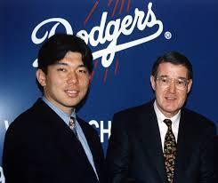 「1995, nomo with major league」の画像検索結果