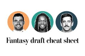 Fantasy football 2019 draft cheat sheet - The Washington Post