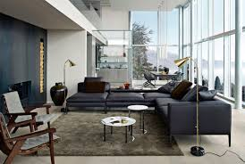 modular sofa contemporary leather fabric michel bb italia furniture prices