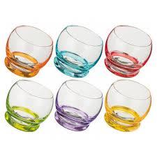 <b>Стакан стеклянный Bohemia Crazy</b> 25250-390 6 шт, 390 мл в ...