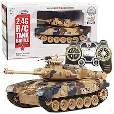 ICW <b>2.4G</b> Tank <b>Remote</b> Control Battle Tank (10 Different Function ...