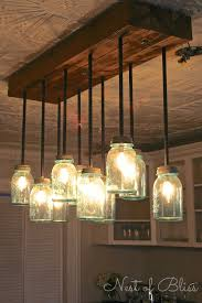 build it diy mason jar chandelier from nest of bliss mason diy build diy mason jar chandelier