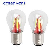 <b>2pcs 4 Filament Super</b> Bright Led 1157 BAY15D P21W/5W Car ...